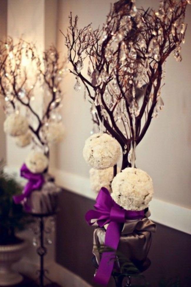novogodisnji ukrasi kao dekoracija na vencanju 10 Novogodišnji ukrasi kao dekoracija na venčanju