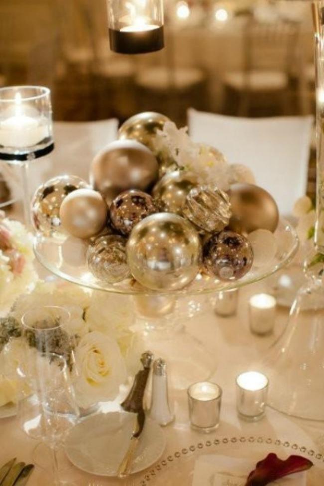 novogodisnji ukrasi kao dekoracija na vencanju 4 Novogodišnji ukrasi kao dekoracija na venčanju
