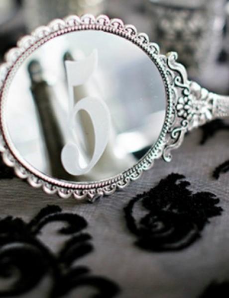 Svadbena dekoracija: Ogledala