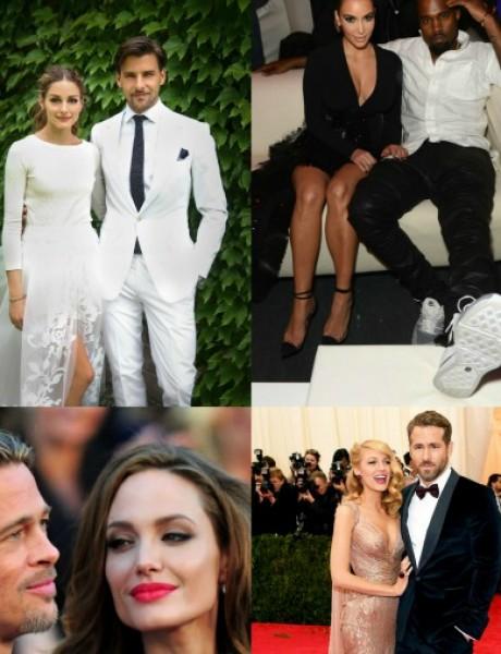 Poznati bračni parovi koji su obeležili 2014. godinu