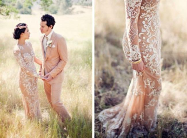 seksi haljine za vencanje poluprovidne vencanice 2 Poluprovidne venčanice su u trendu