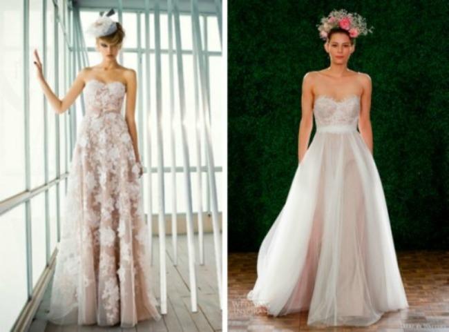 seksi haljine za vencanje poluprovidne vencanice 3 Poluprovidne venčanice su u trendu