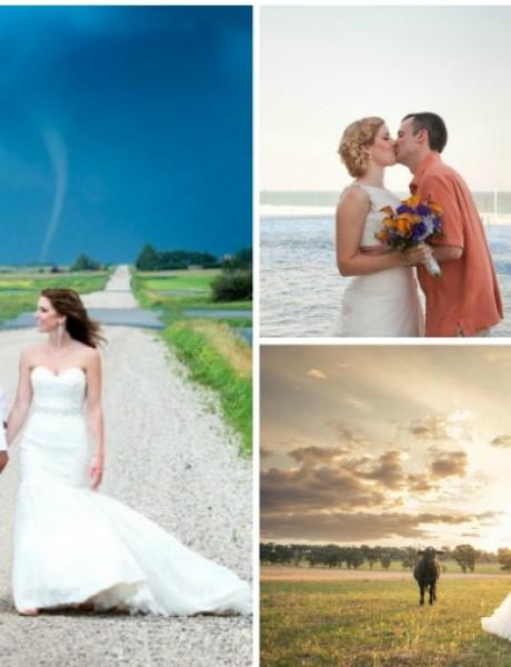 Smešni upadi na fotografije sa venčanja
