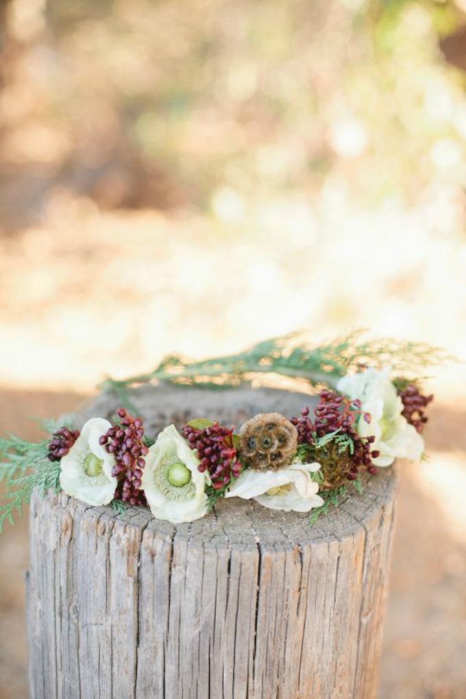 vencic Uradi sama: Venčić za mlade od zimskog cveća