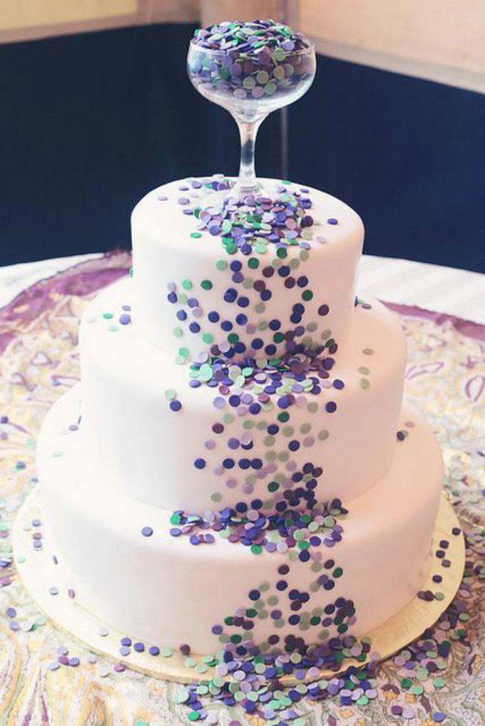 Novodišnja dekoracija na svadbenoj torti 54 Novodišnja dekoracija na svadbenoj torti