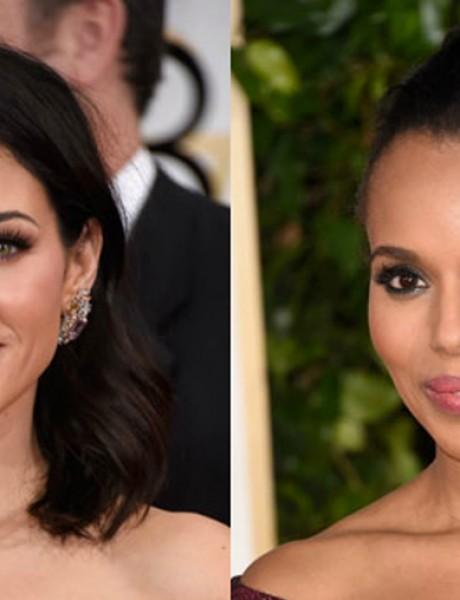 Zlatni globus: Trendovi za šminku i frizuru