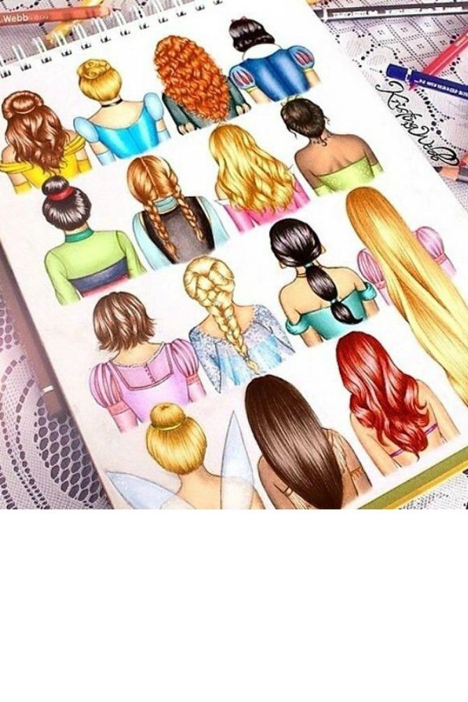 frizura1 Napravite same frizuru za venčanje kao Diznijeve princeze
