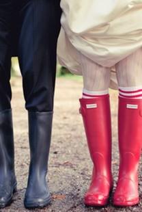 Moderne na venčanju: Gumene čizme