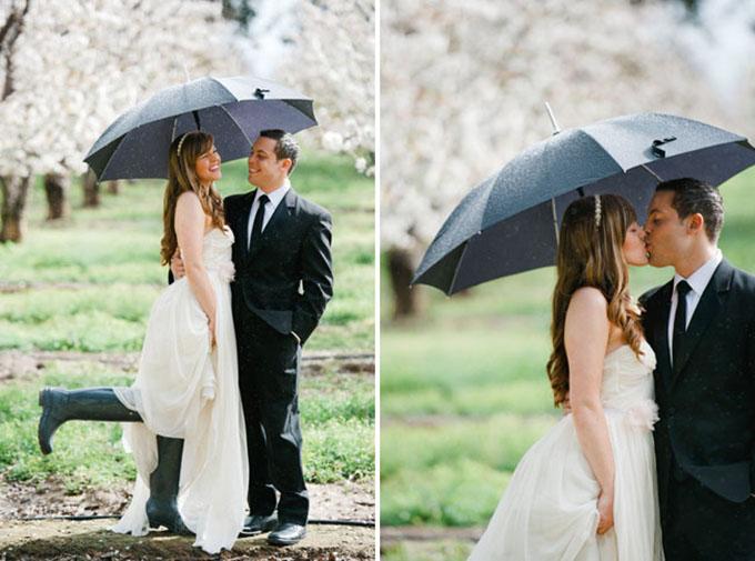 gumene cizme na vencanju 4 Moderne na venčanju: Gumene čizme