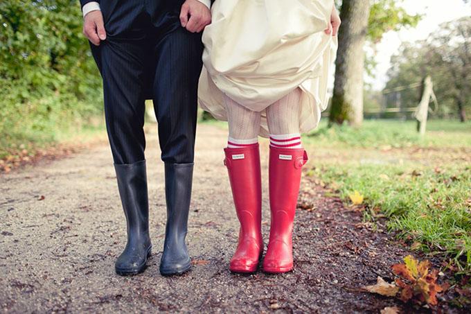 gumene cizme na vencanju 6 Moderne na venčanju: Gumene čizme