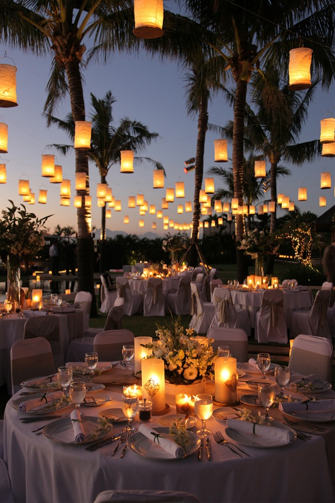 svadbena rasveta7 Svadbena dekoracija: Osvetljenje