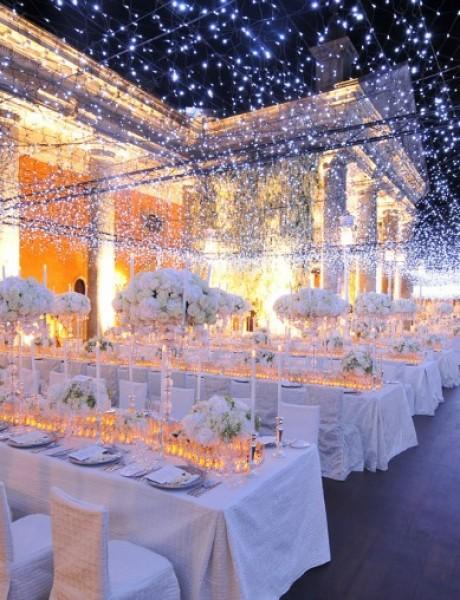 Svadbena dekoracija: Osvetljenje