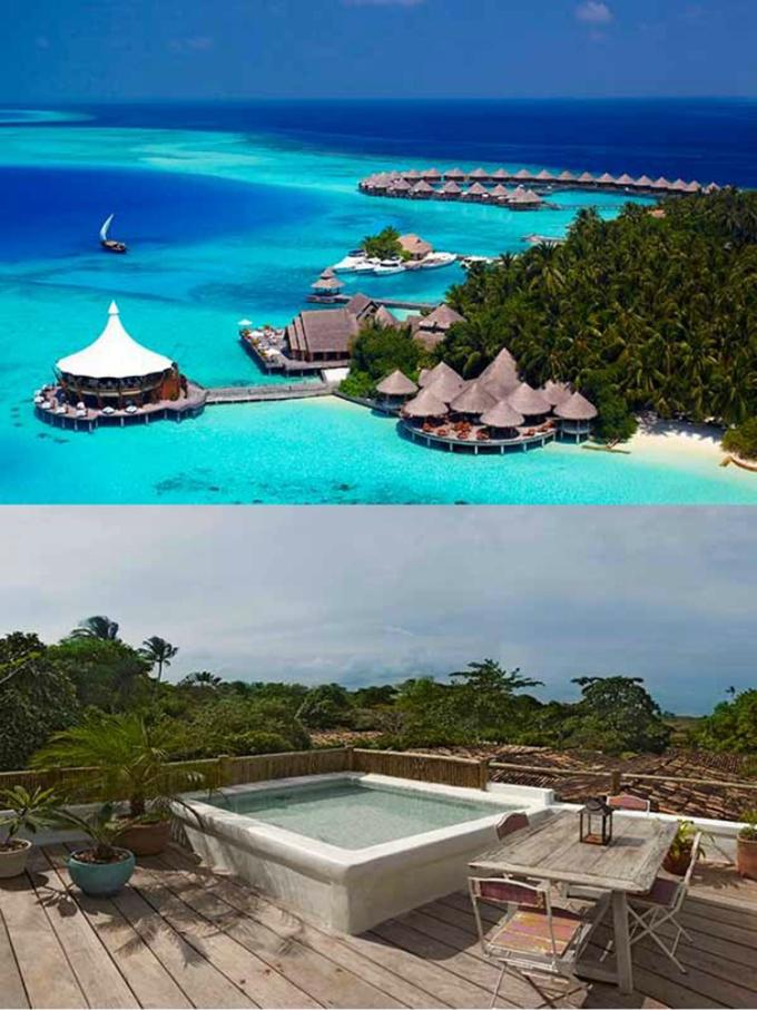 Maldivi i Brazil1 Gde otputovati na medeni mesec?