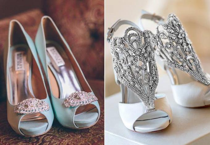 cipele za venčanje Ovi aksesoari upotpunjuju svadbeni izgled mlade