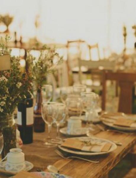 Selo kao inspiracija za venčanje
