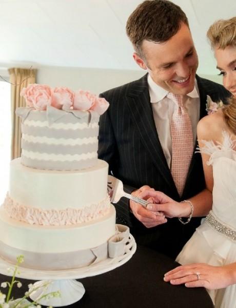 Svadbeni običaji: Zajedničko sečenje mladenačke torte