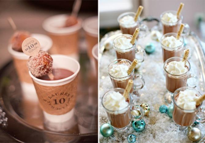 topla čokolada Ideje kako da čokoladom ukrasite svoje venčanje