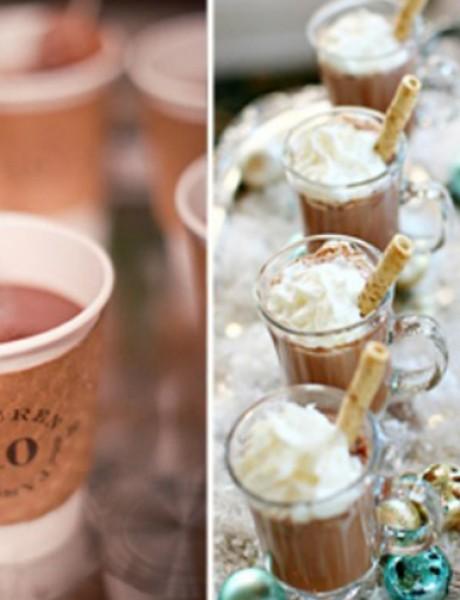 Ideje kako da čokoladom ukrasite svoje venčanje
