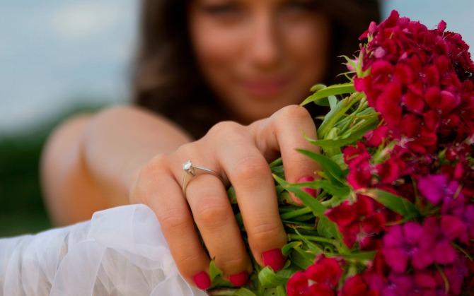 verenicki prsten Kad je verenički prsten dijamantski