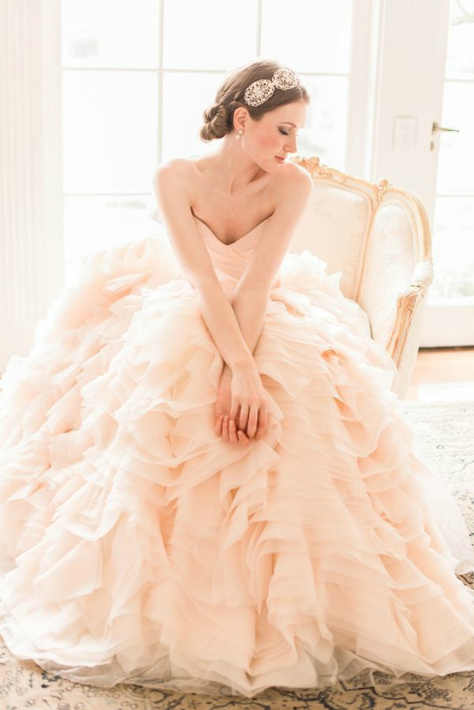 vintage stil i nezno roze boja 1 Vintage i nežno roze su savršen spoj za venčanje