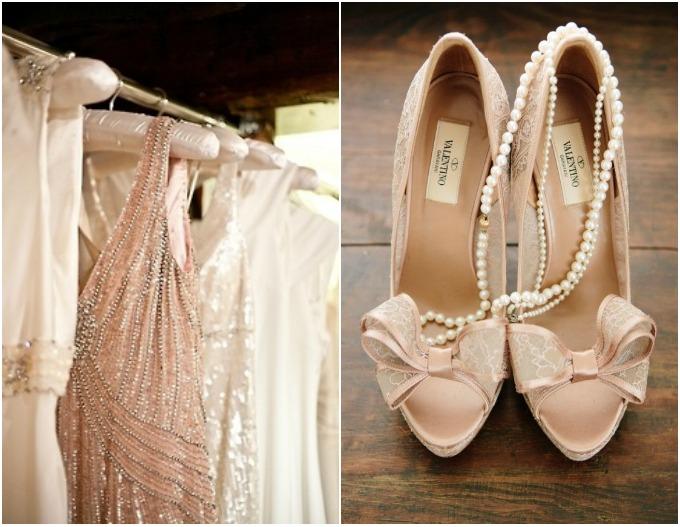 vintage stil i nezno roze boja 2 Vintage i nežno roze su savršen spoj za venčanje