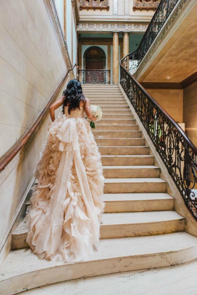 vintage stil i nezno roze boja 3 Vintage i nežno roze su savršen spoj za venčanje