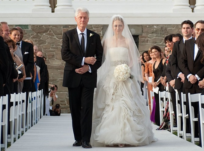 Čelzi Klinton i Mark Mezvinski venčanje Ovo su najskuplja venčanja u istoriji