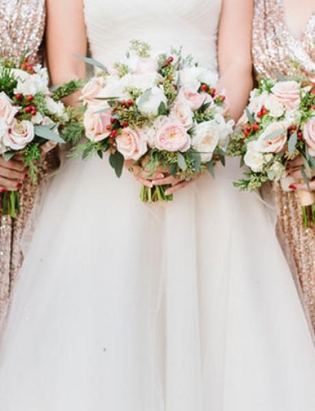 Šljokice će učiniti da vaše venčanje zablista