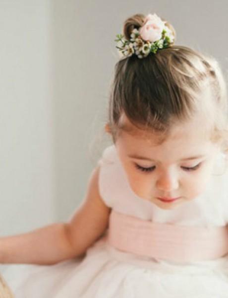 Frizure za najmlađe na venčanju