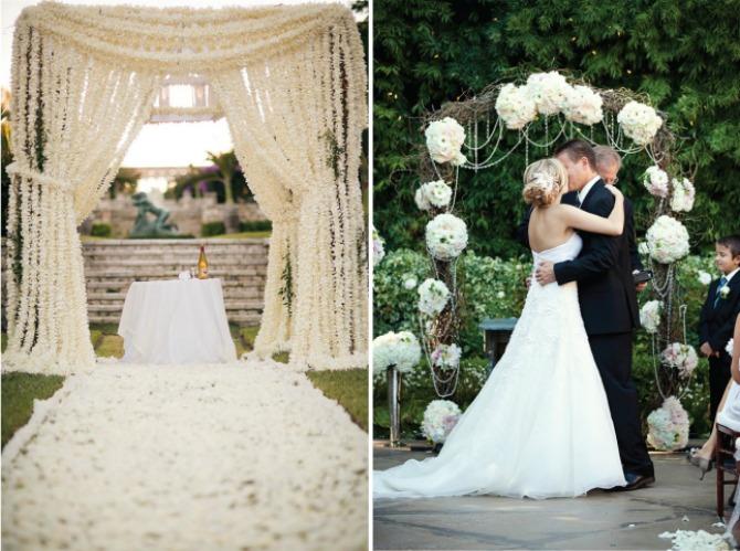 baldahini za venčanje2 Baldahini kao romantična i korisna dekoracija