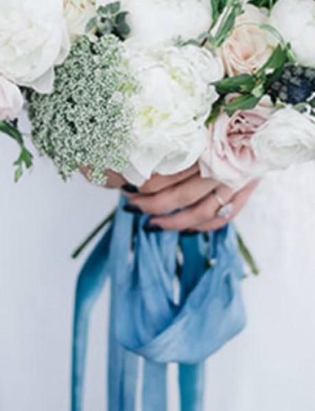 Nešto plavo na venčanju: Bidermajer