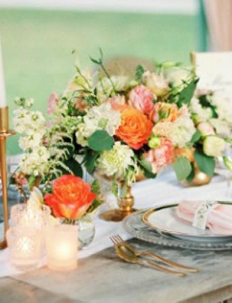 Boja breskve – savršen izbor za dekoraciju svakog venčanja