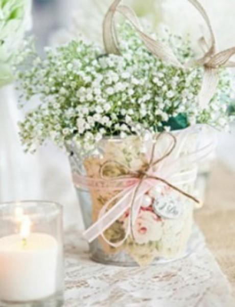 Đurđevak kao dekoracija na svadbama