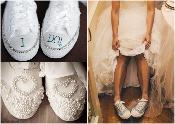 patike za vencanje Budite elegantne u ravnoj obući na venčanju