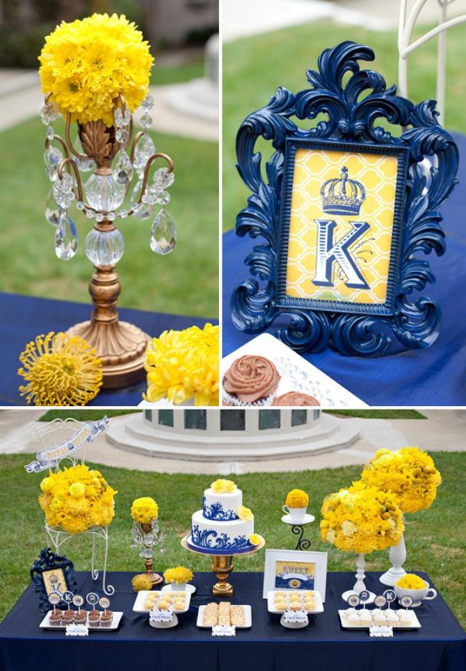 plavo žuta dekoracija za vencanje1 Plavo žuta dekoracija za venčanje