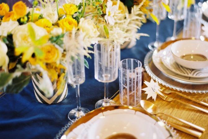 plavo žuta dekoracija za vencanje2 Plavo žuta dekoracija za venčanje