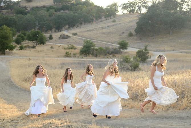 sestre u venčanici1 Kad se sestre slikaju pred venčanje