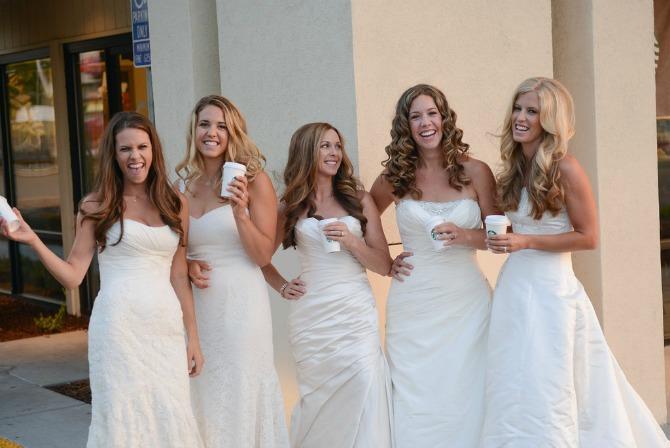 sestre u venčanici4 Kad se sestre slikaju pred venčanje