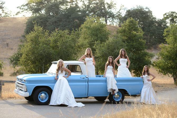 sestre u venčanici5 Kad se sestre slikaju pred venčanje