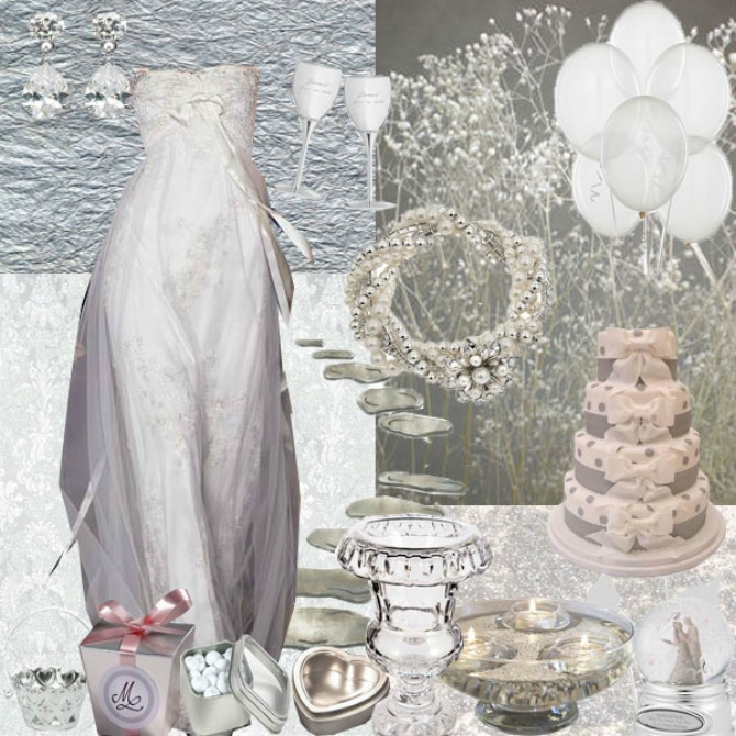 srebrna boja za venčanje Srebrna boja na venčanju