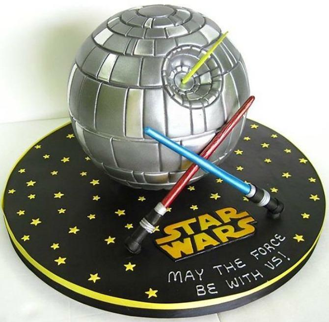 torta inspirisana ratovima zvezda Neobične mladenačke torte