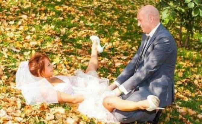 unikatne slike sa venčanja1 Uvrnute fotografije sa venčanja