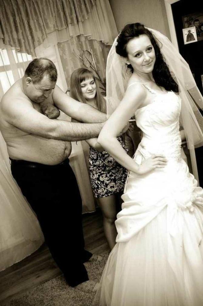 unikatne slike sa venčanja2 Uvrnute fotografije sa venčanja