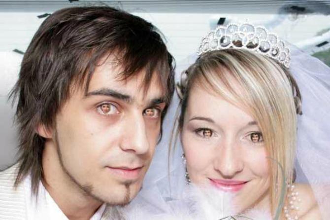 unikatne slike sa venčanja5 Uvrnute fotografije sa venčanja