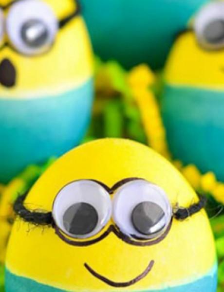 Ukrasite jaja na jednostavan i kreativan način
