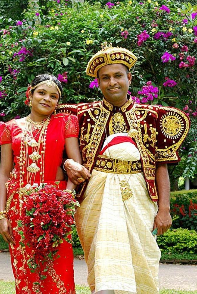 venčanja širom sveta Šri Lanka Kakve haljine žene širom sveta nose na venčanju