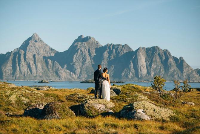 venčanje u Norveškoj Ove fotografije sa venčanja u Norveškoj poželeće svako od nas da ima