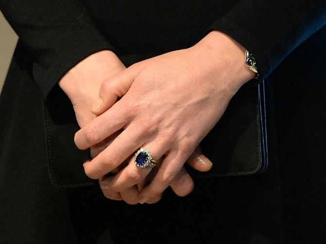 verenički prsten Kejt Midlton Netradicionalno vereničko prstenje poznatih