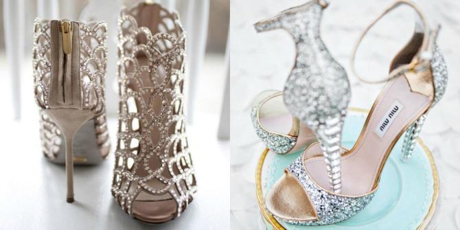 cipele za venčanje2 Ove cipele za venčanje će izazvati vau efekat