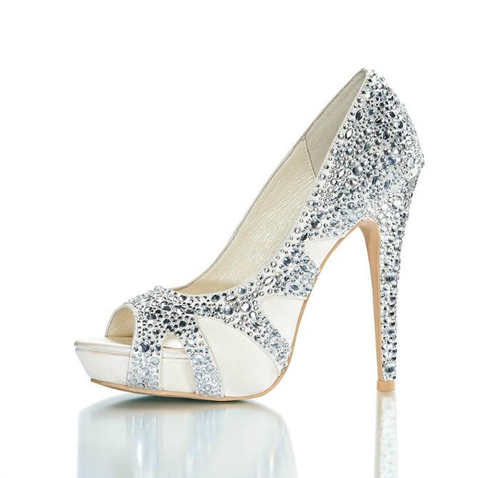 cipele za venčanje21 Ove cipele za venčanje će izazvati vau efekat